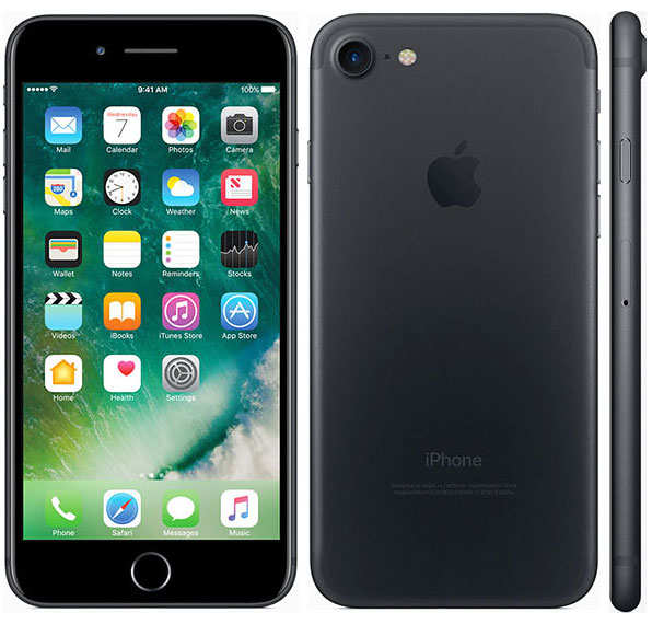 Apple iPhone 7 128 ГБ black в интернет-магазине BombSALES 643ff6f33cc