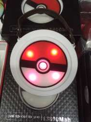 Power bank pokeball 13 800mAh